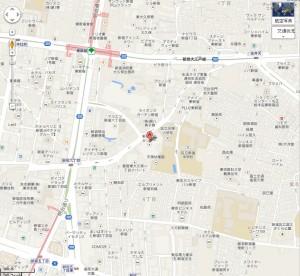 新宿文化センター googlemap